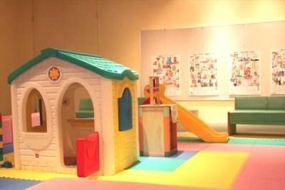 なしっこ館子供達が遊ぶスペース